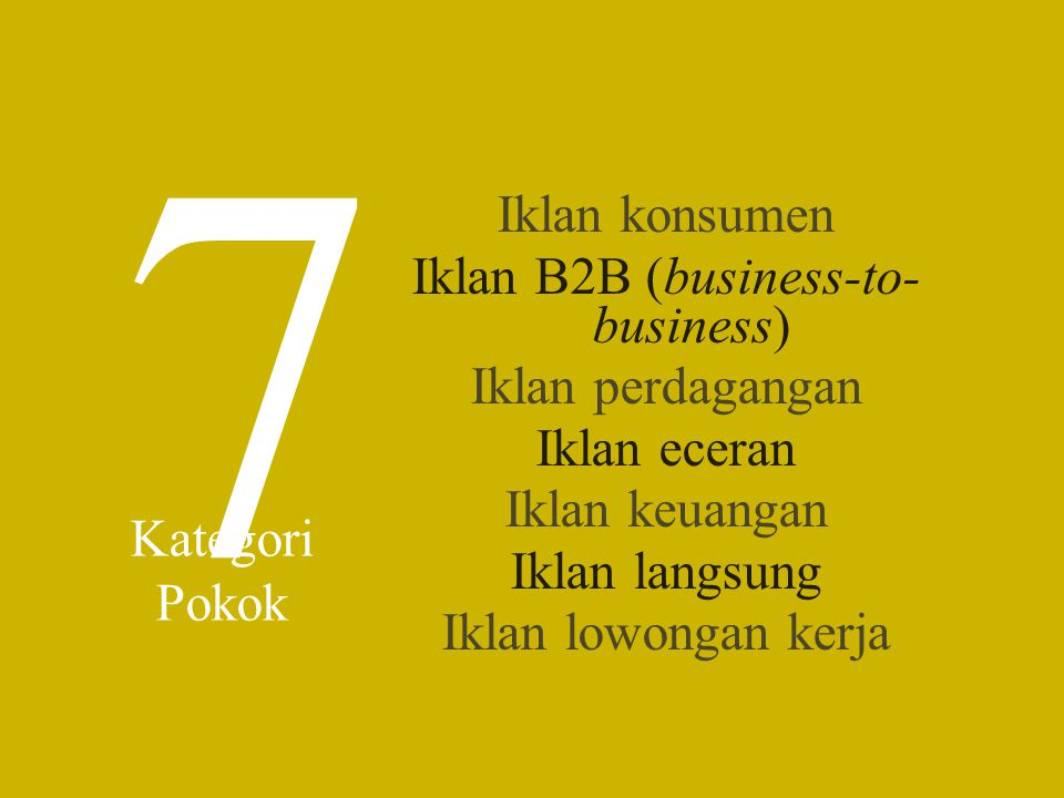 Iklan B2B (business-to-business)