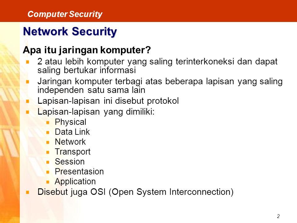 Network Security Apa itu jaringan komputer