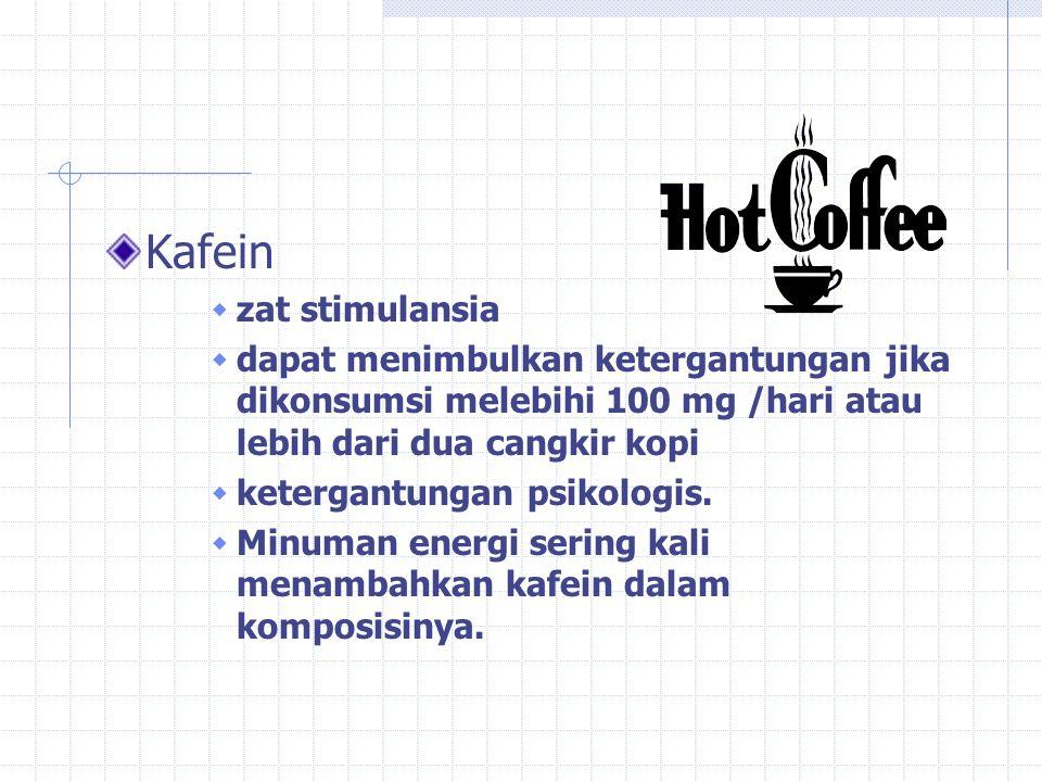 Kafein zat stimulansia