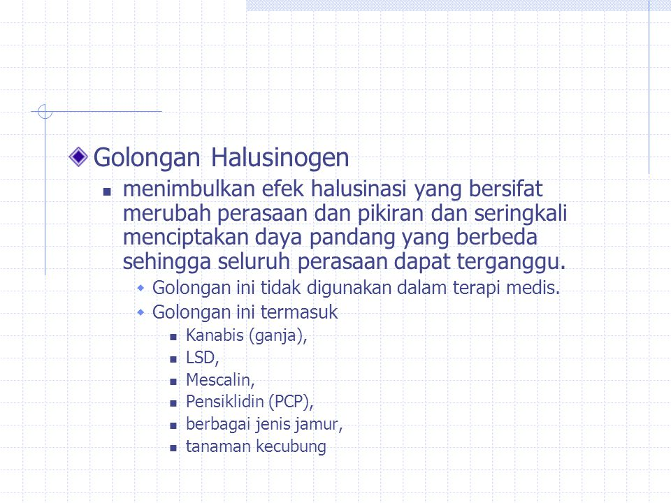 Golongan Halusinogen