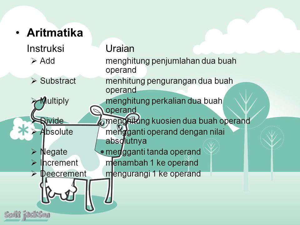 Aritmatika Instruksi Uraian