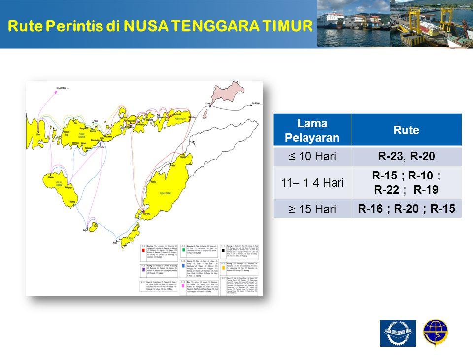 Rute Perintis di NUSA TENGGARA TIMUR