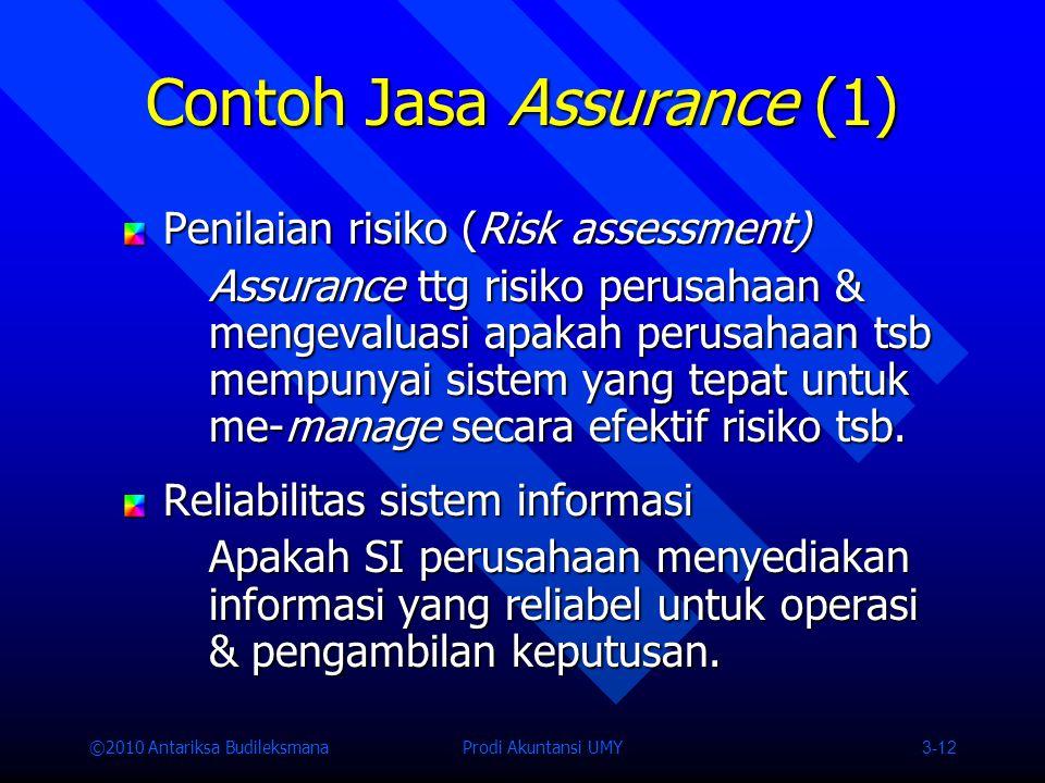 Contoh Jasa Assurance (1)
