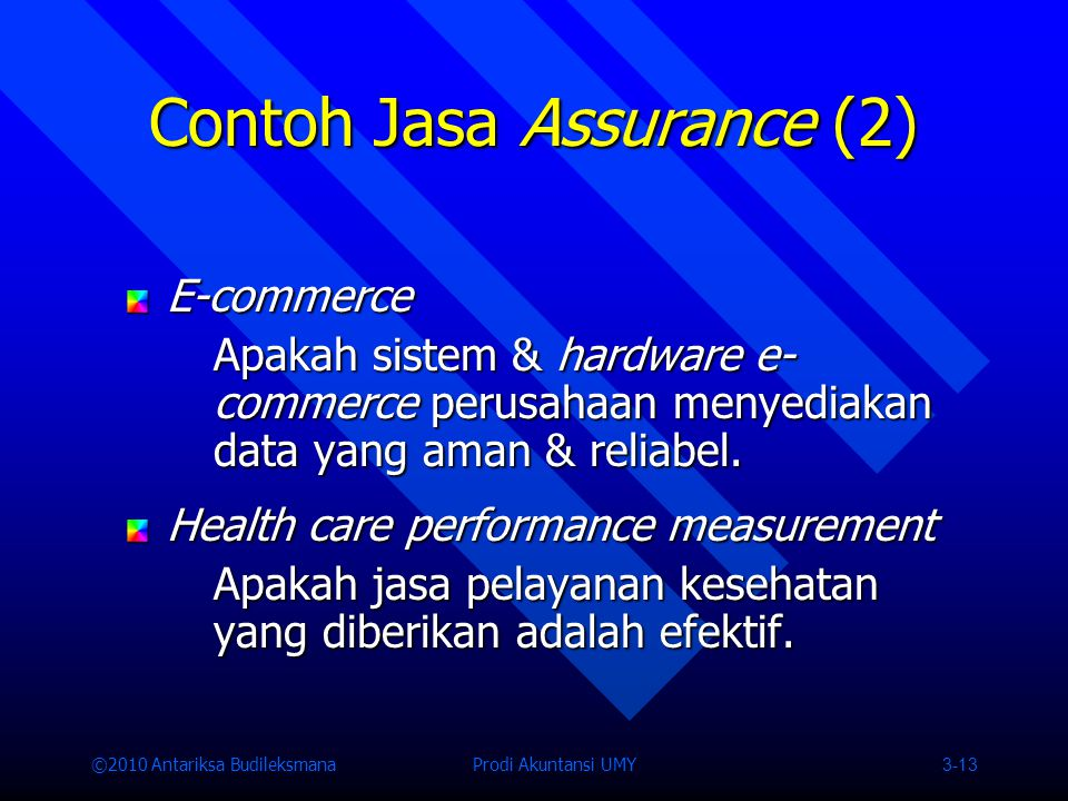 Contoh Jasa Assurance (2)