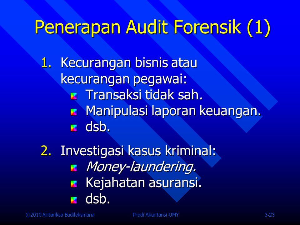 Penerapan Audit Forensik (1)