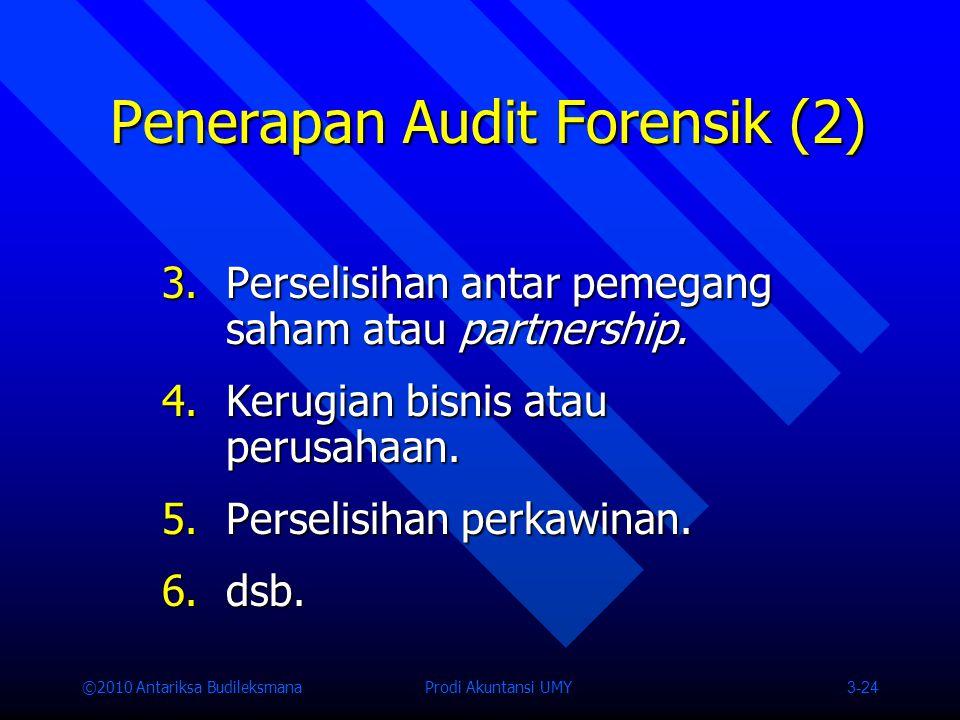 Penerapan Audit Forensik (2)