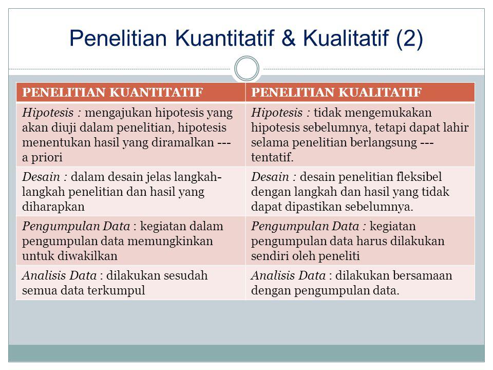 Penelitian Kuantitatif & Kualitatif (2)