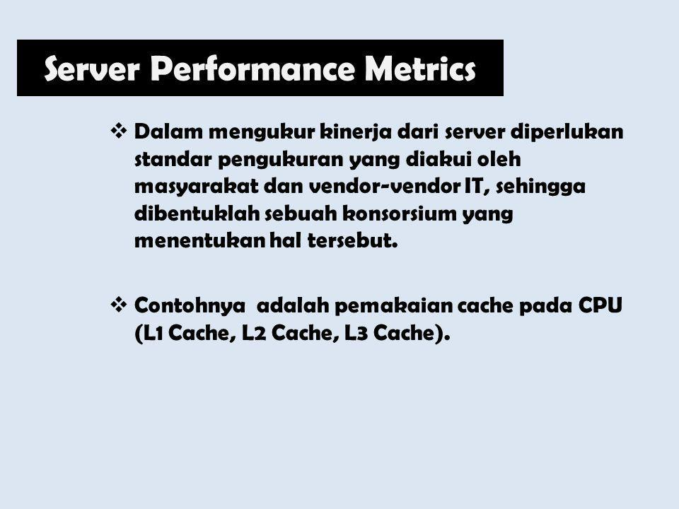 Server Performance Metrics