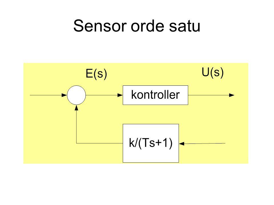 Sensor orde satu