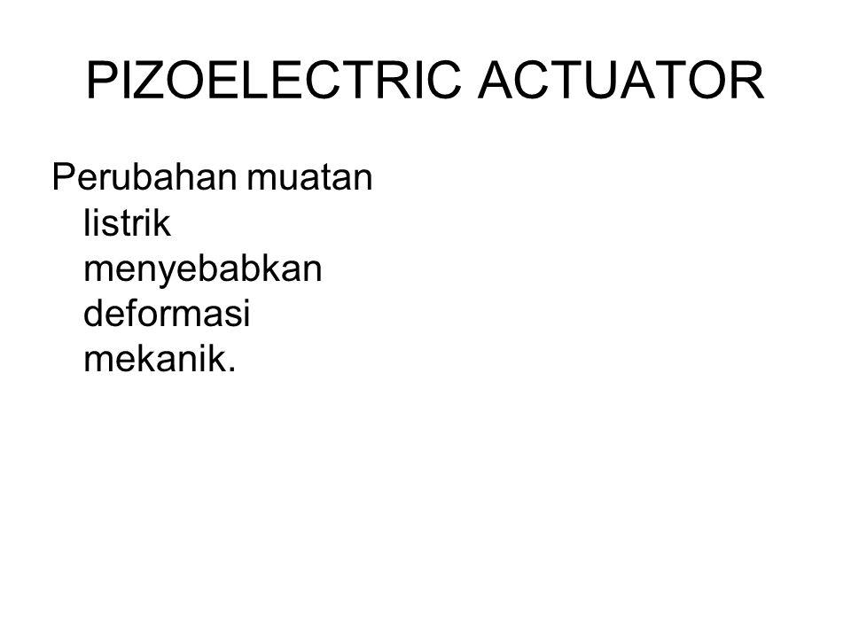 PIZOELECTRIC ACTUATOR