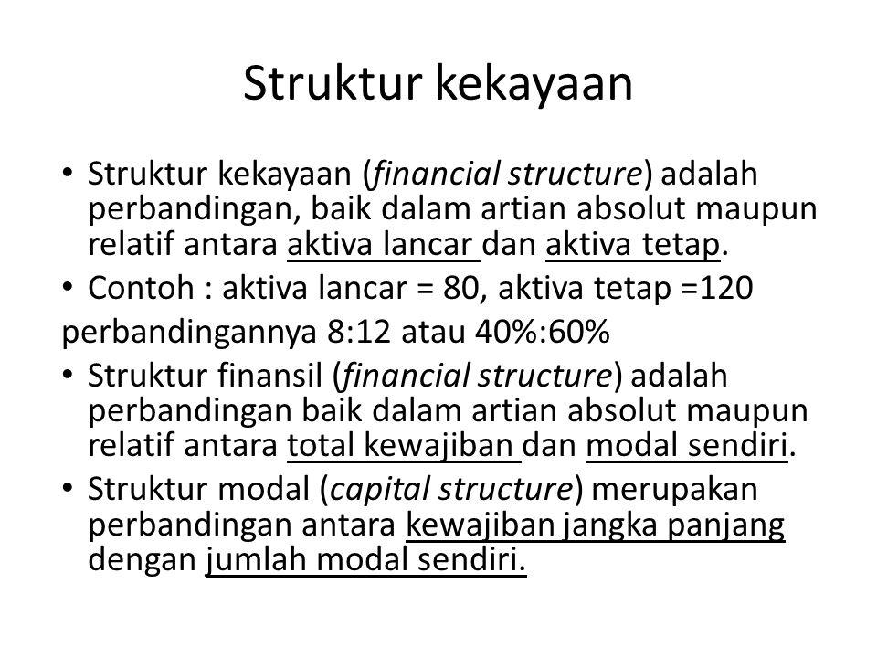 Struktur kekayaan