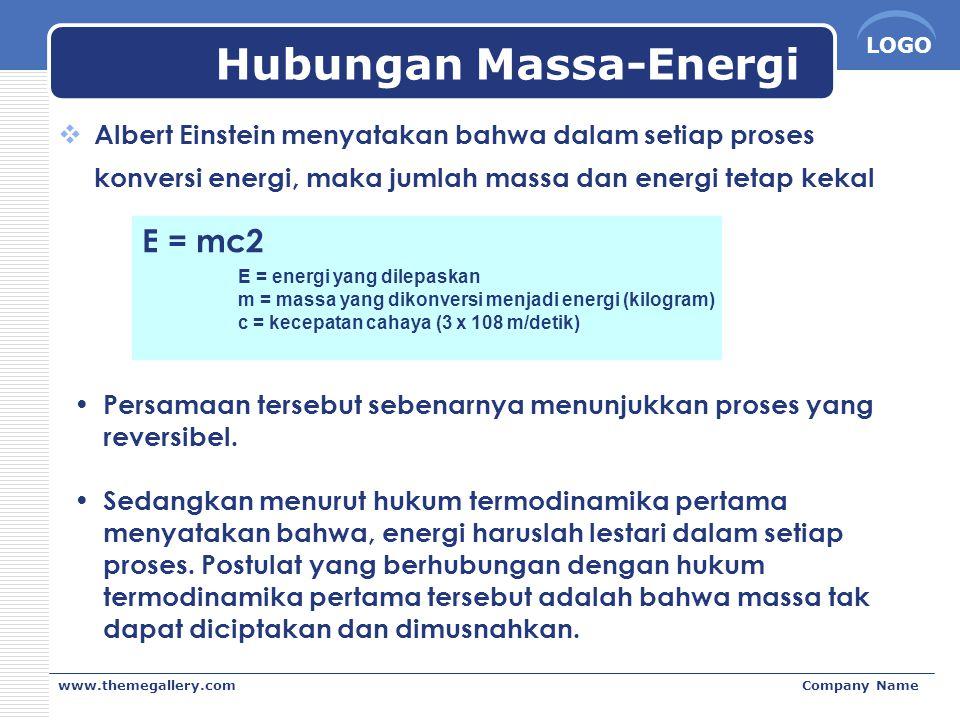 Hubungan Massa-Energi