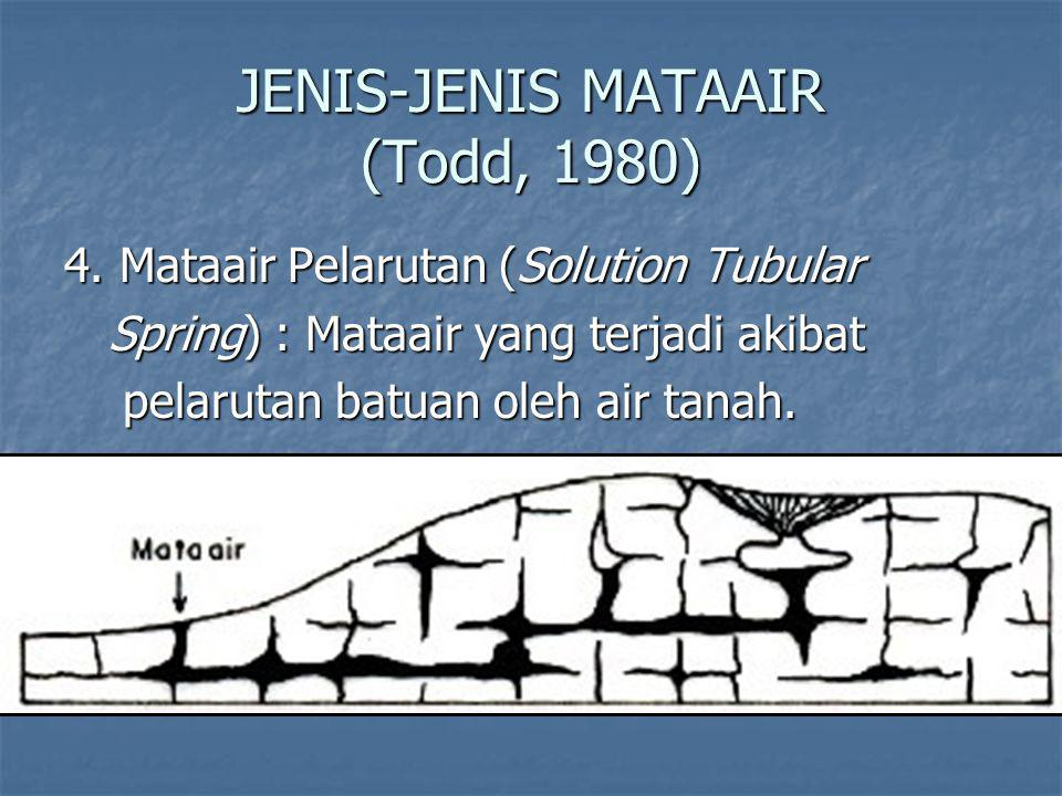 JENIS-JENIS MATAAIR (Todd, 1980)