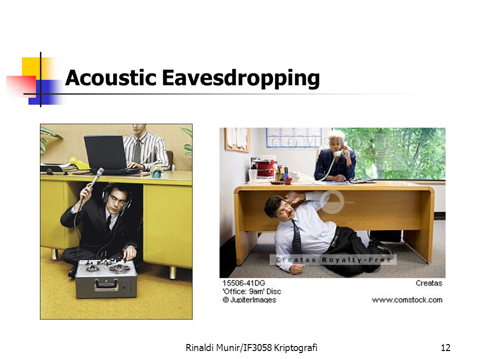 Acoustic Eavesdropping