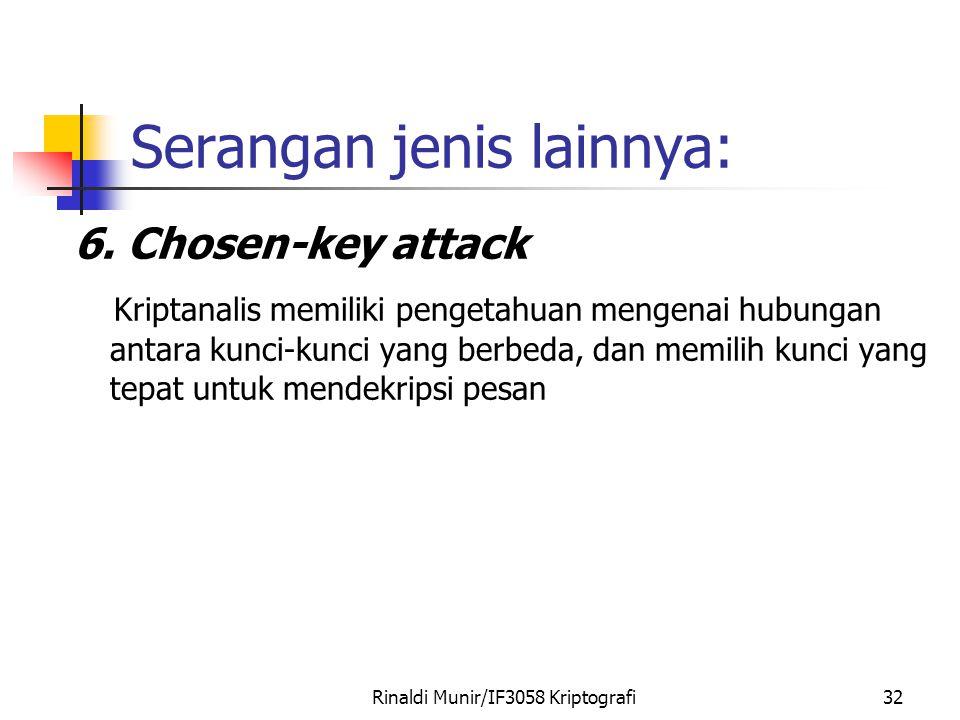 Serangan jenis lainnya: