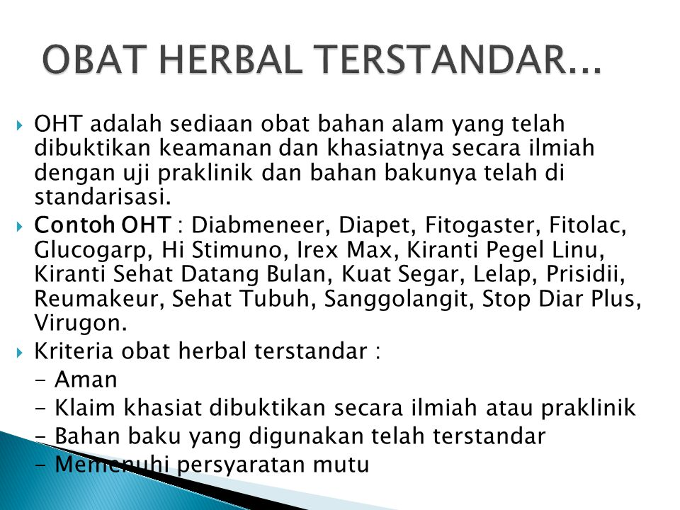OBAT HERBAL TERSTANDAR...