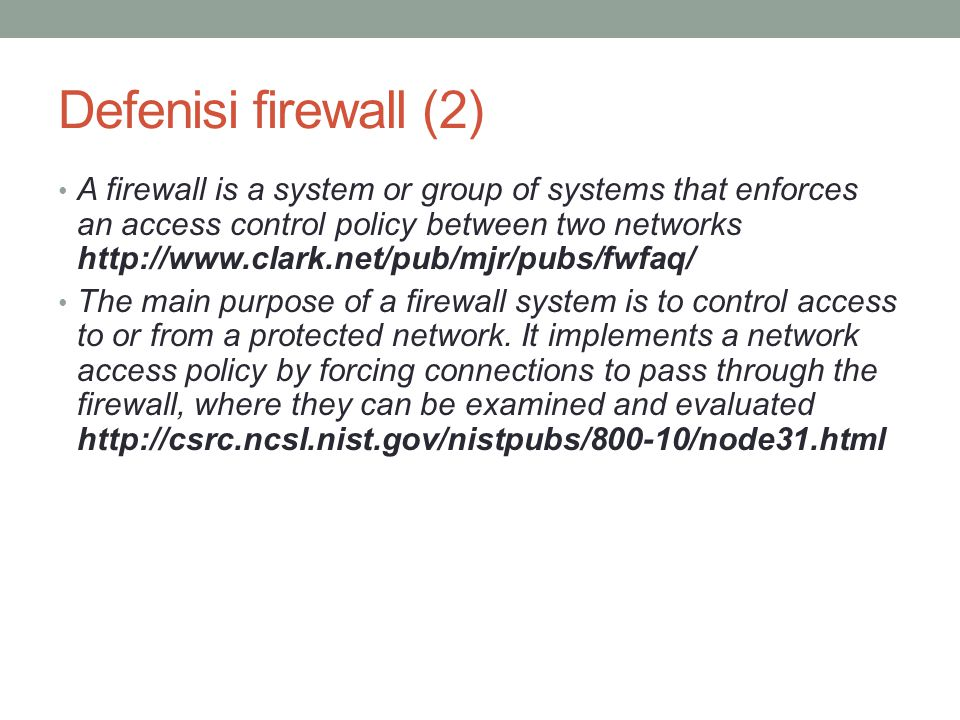 Defenisi firewall (2)