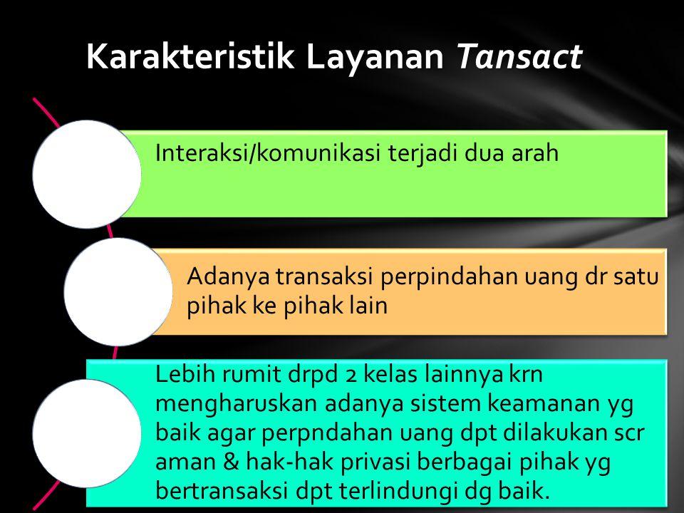 Karakteristik Layanan Tansact