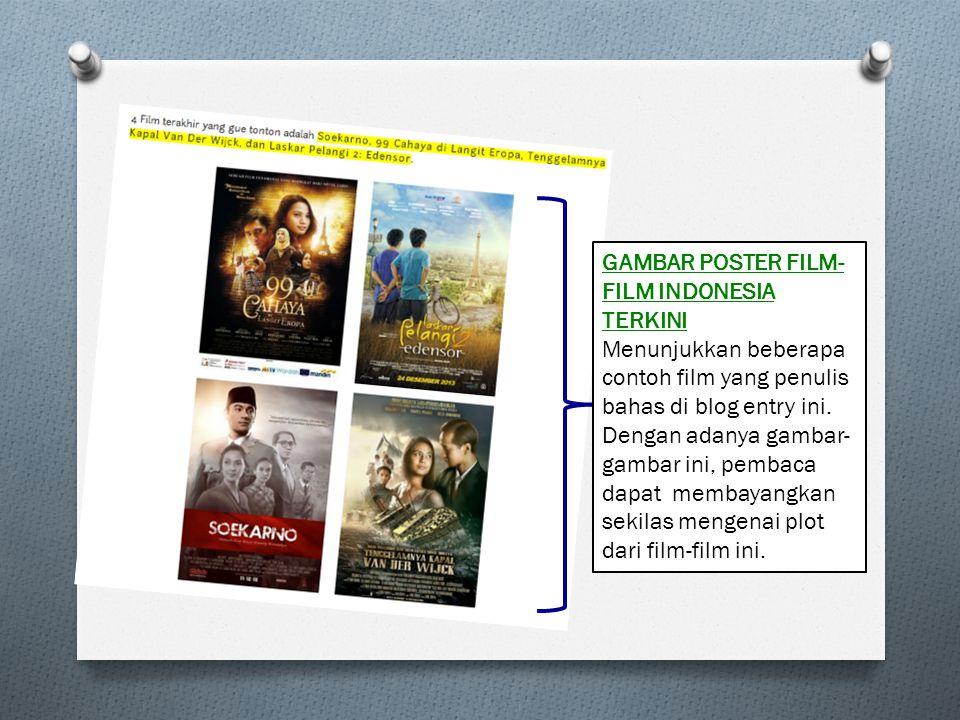 GAMBAR POSTER FILM-FILM INDONESIA TERKINI