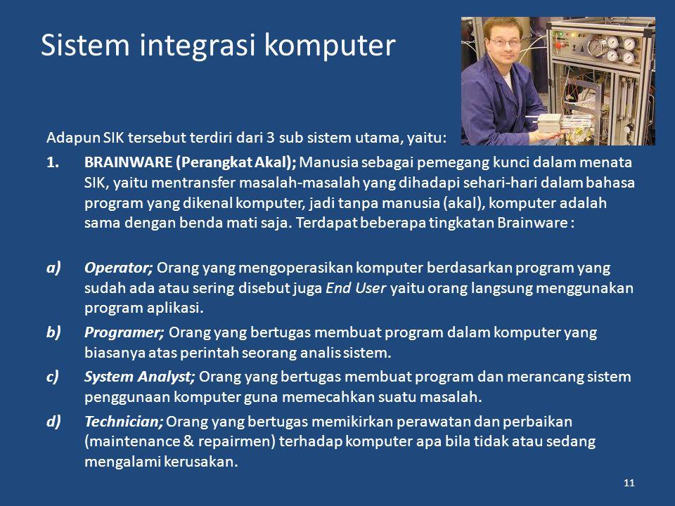 Sistem integrasi komputer