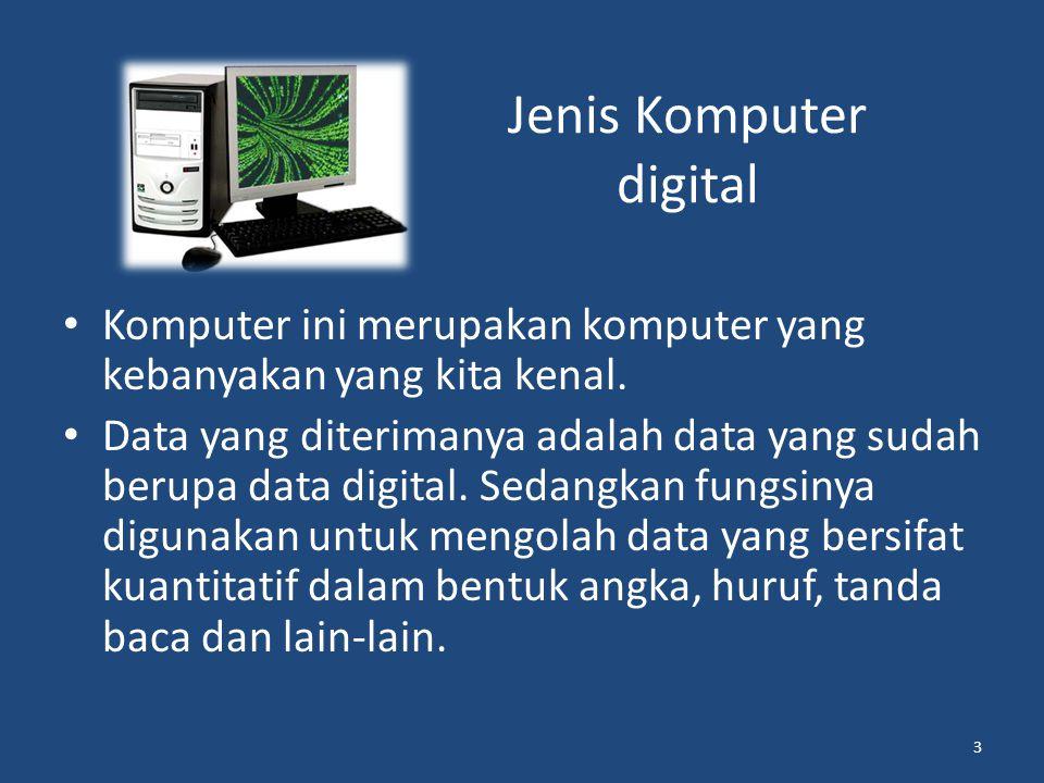 Jenis Komputer digital