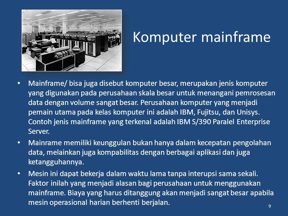 Komputer mainframe