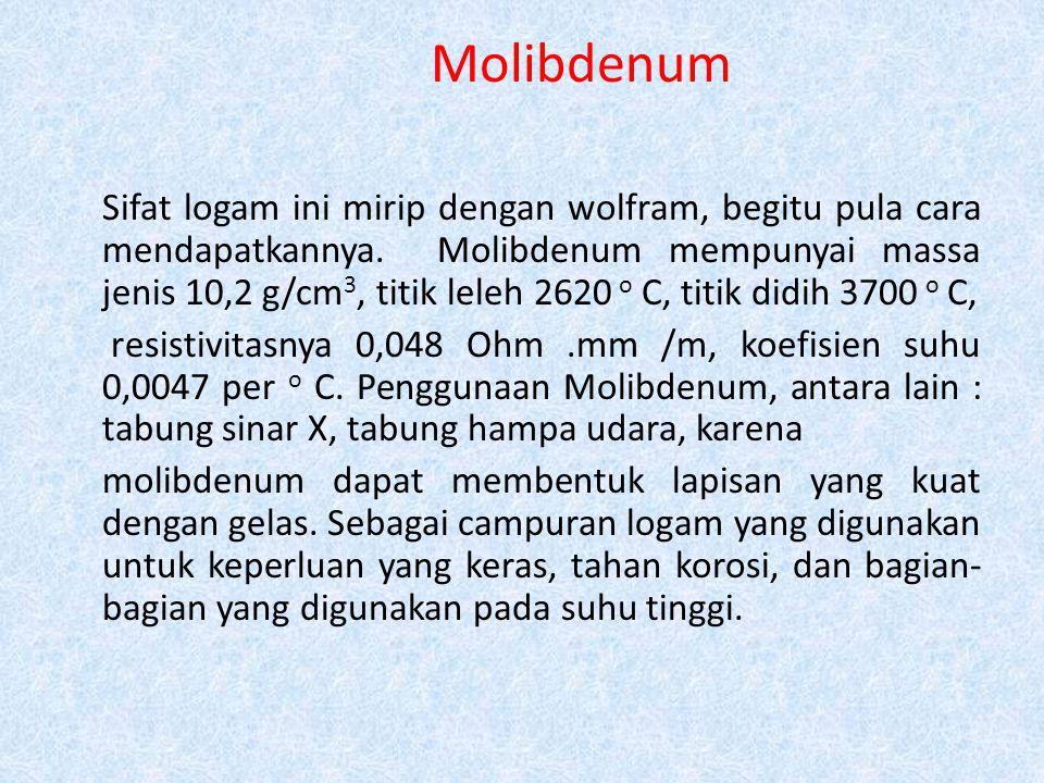 Molibdenum