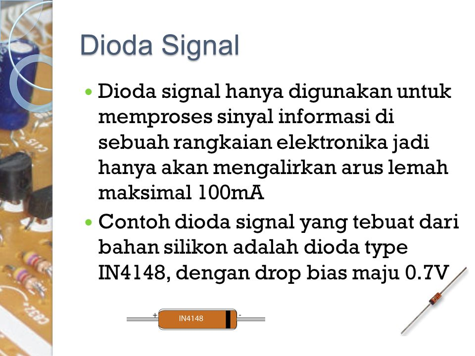 Dioda Signal