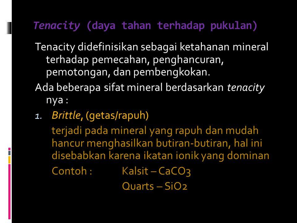Tenacity (daya tahan terhadap pukulan)