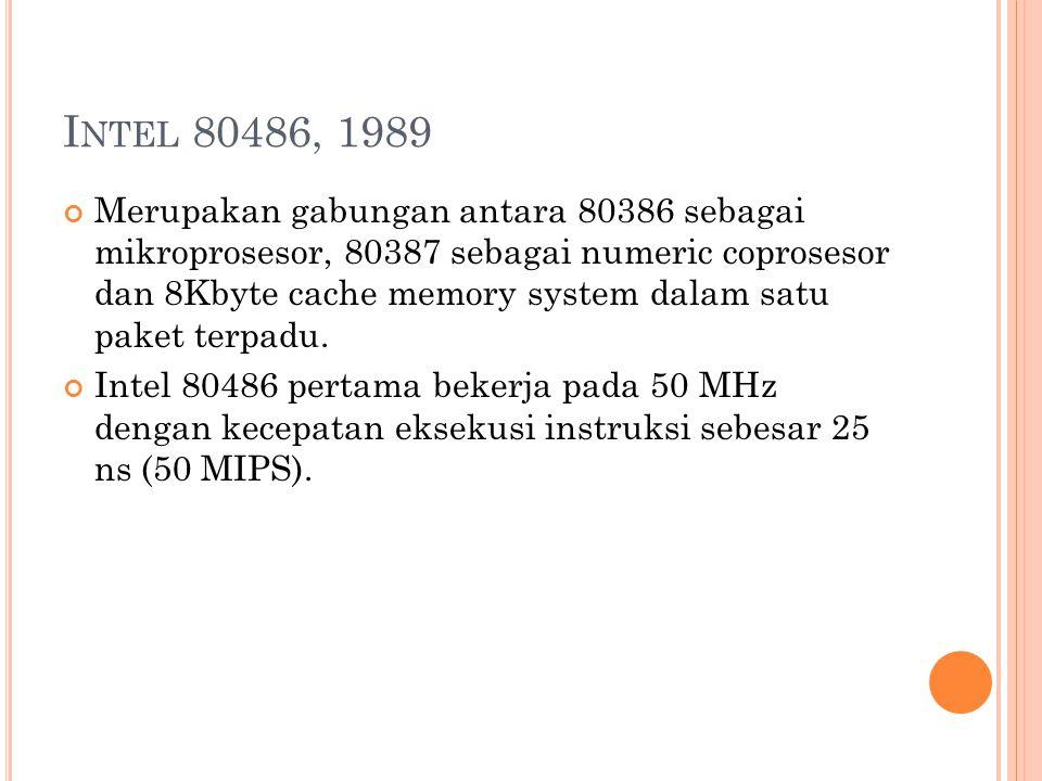 Intel 80486, 1989