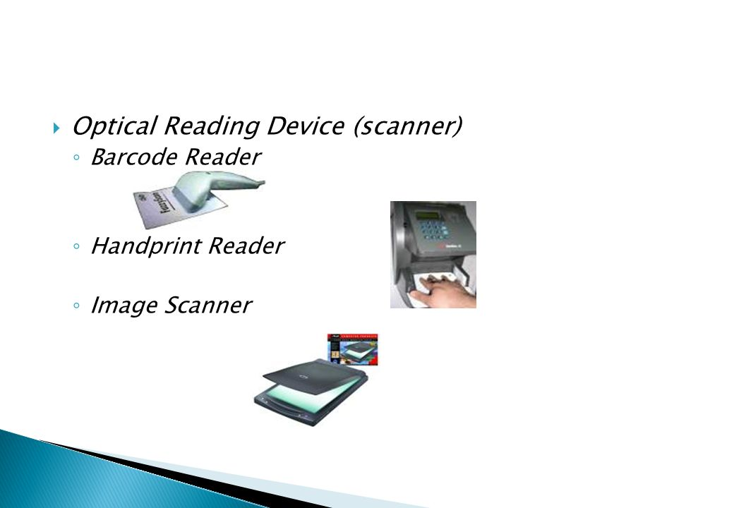 Optical Reading Device (scanner)