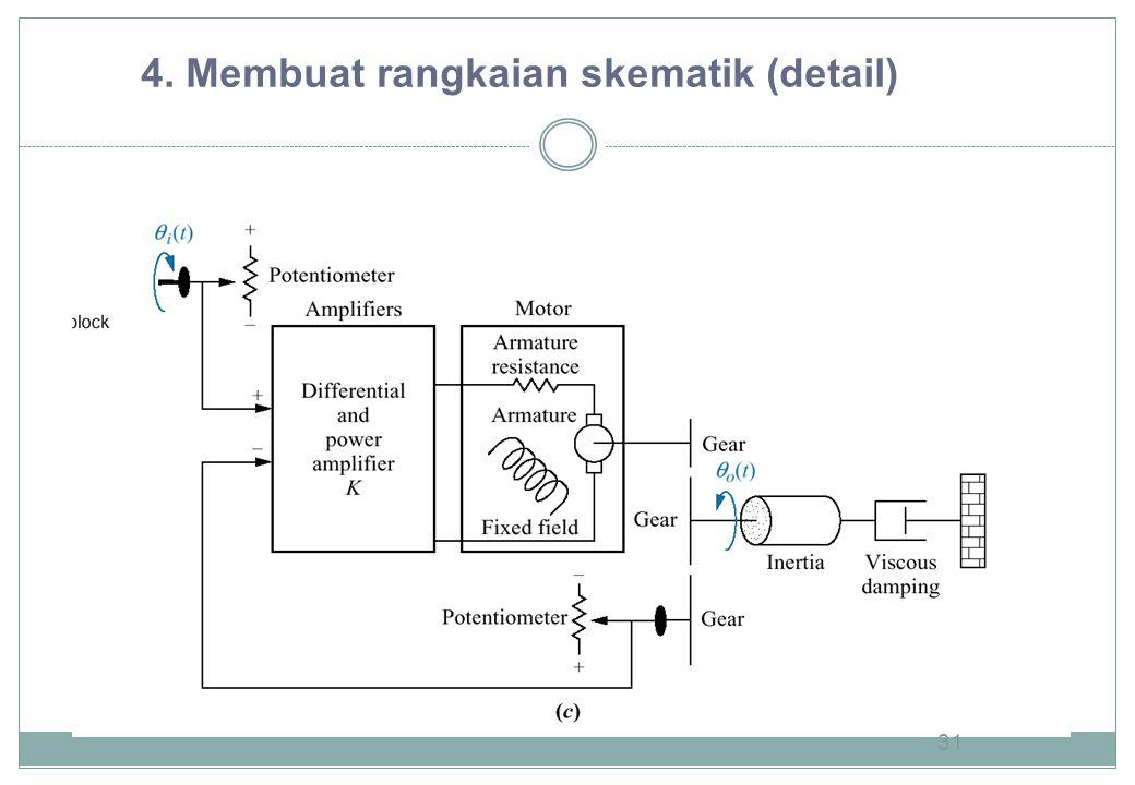 4. Membuat rangkaian skematik (detail)