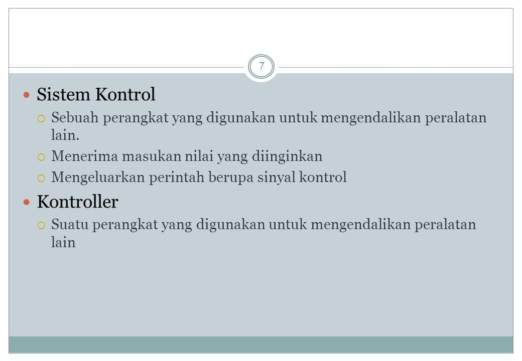 Sistem Kontrol Kontroller