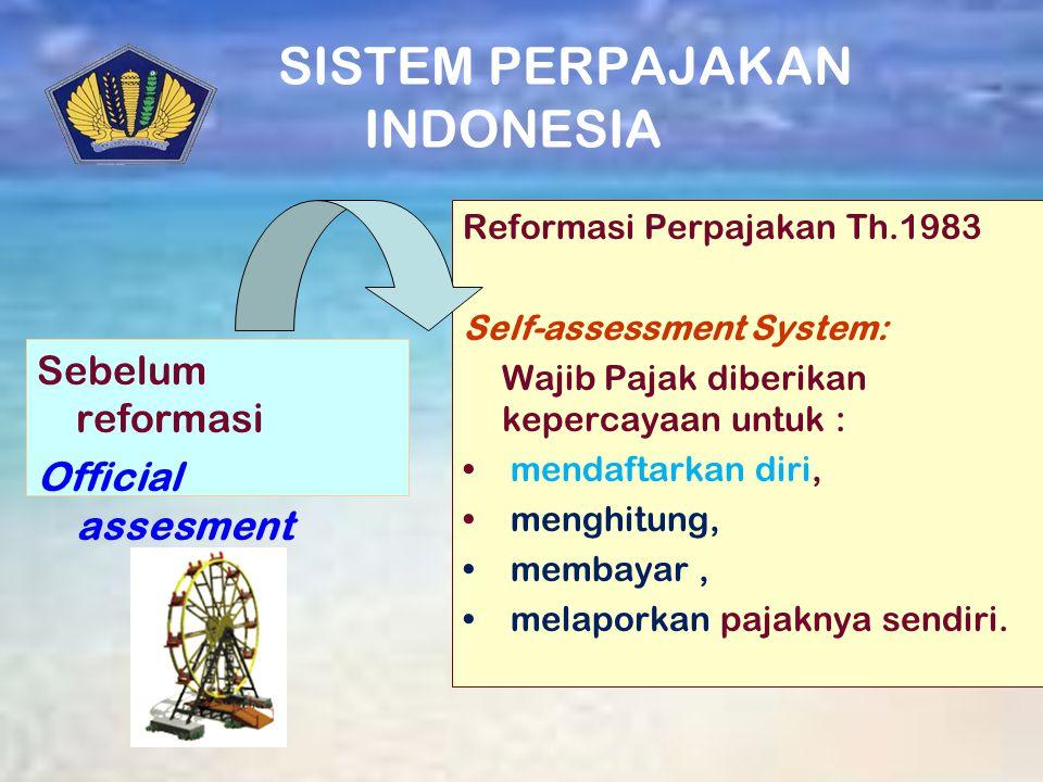 SISTEM PERPAJAKAN INDONESIA