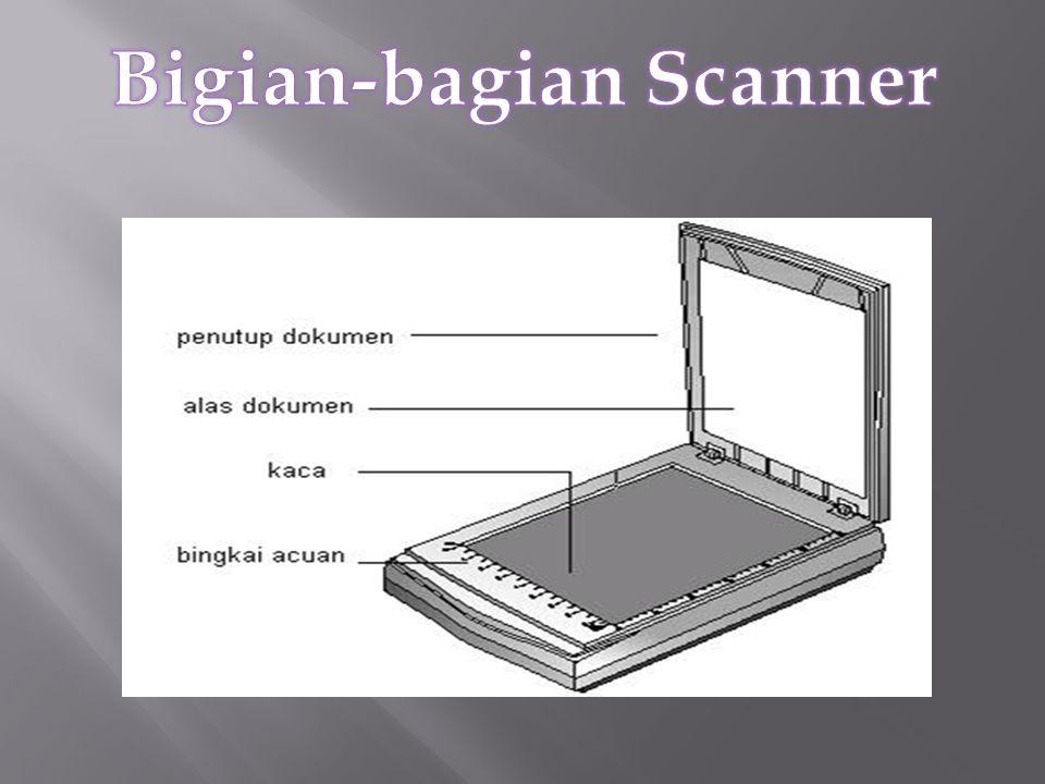Bigian-bagian Scanner