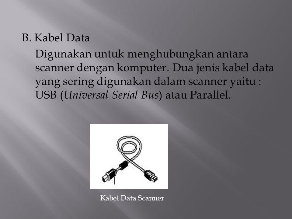 B. Kabel Data