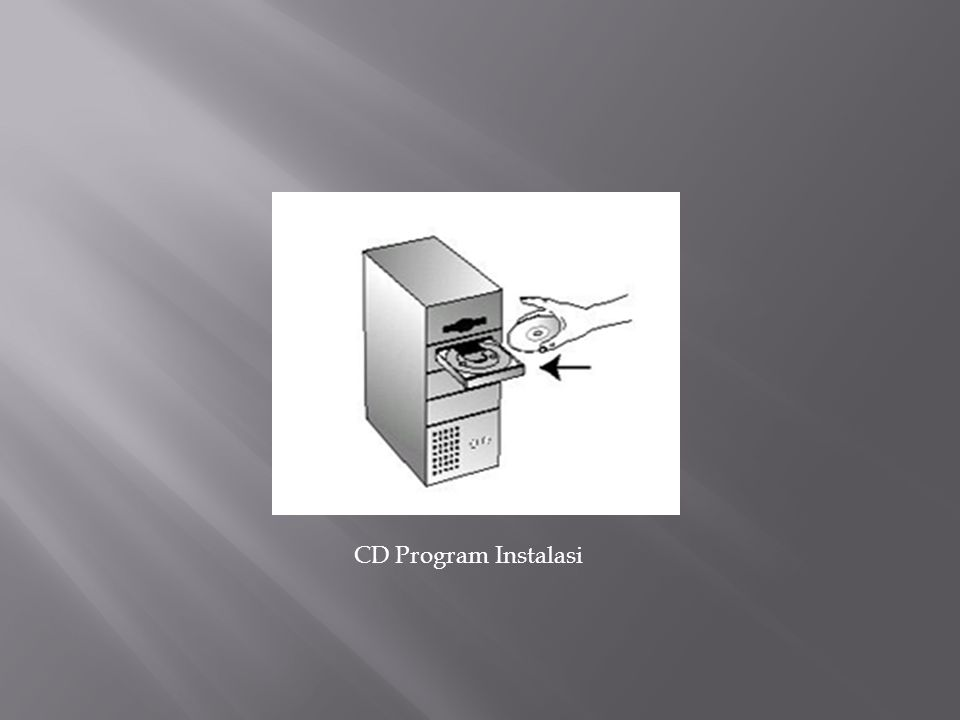 CD Program Instalasi