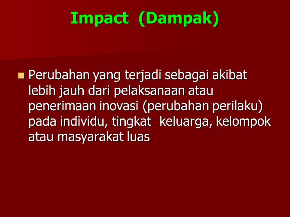 Impact (Dampak)