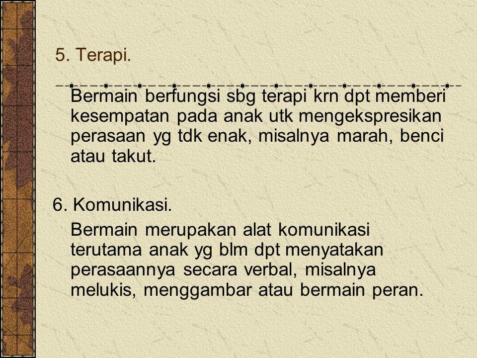 5. Terapi.
