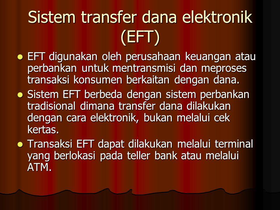 Sistem transfer dana elektronik (EFT)