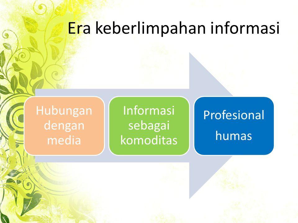 Era keberlimpahan informasi
