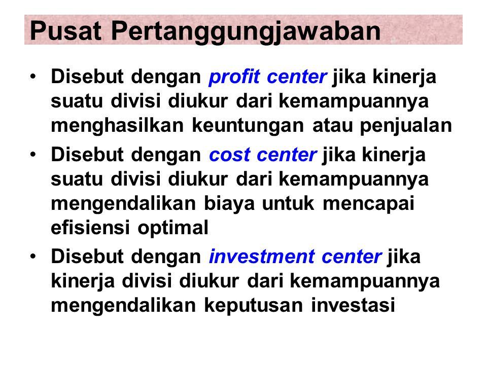Pusat Pertanggungjawaban