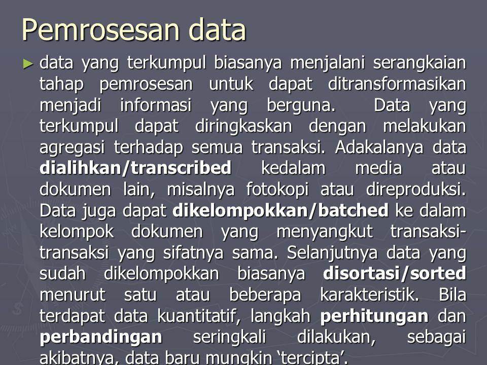 Pemrosesan data