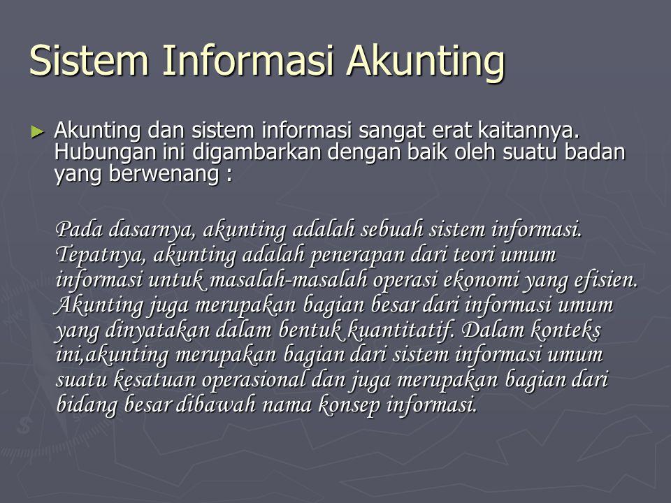Sistem Informasi Akunting