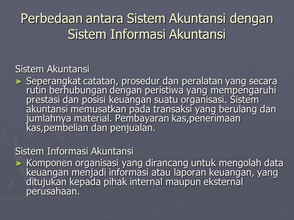 Perbedaan antara Sistem Akuntansi dengan Sistem Informasi Akuntansi