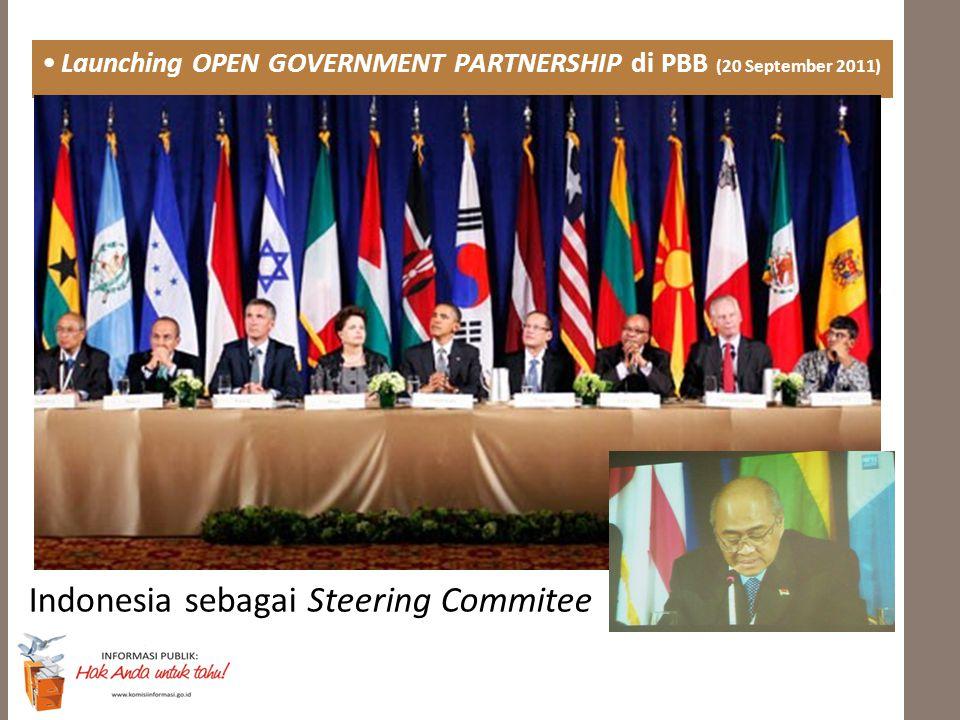 Indonesia sebagai Steering Commitee