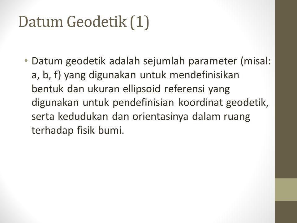Datum Geodetik (1)
