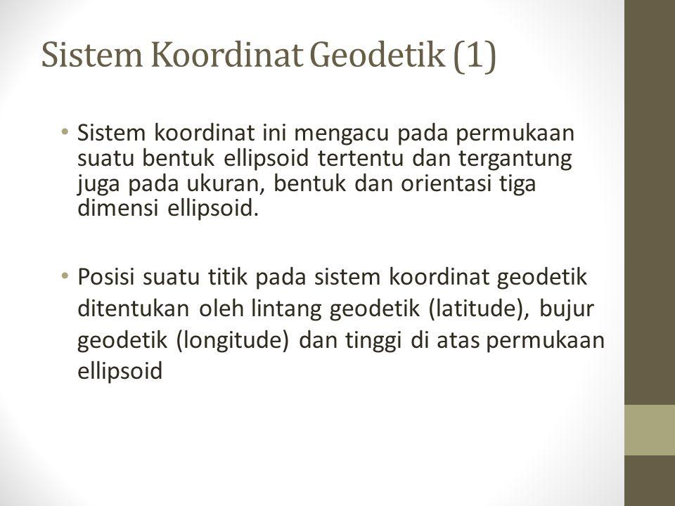 Sistem Koordinat Geodetik (1)