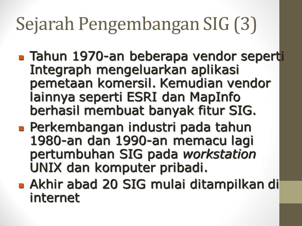 Sejarah Pengembangan SIG (3)