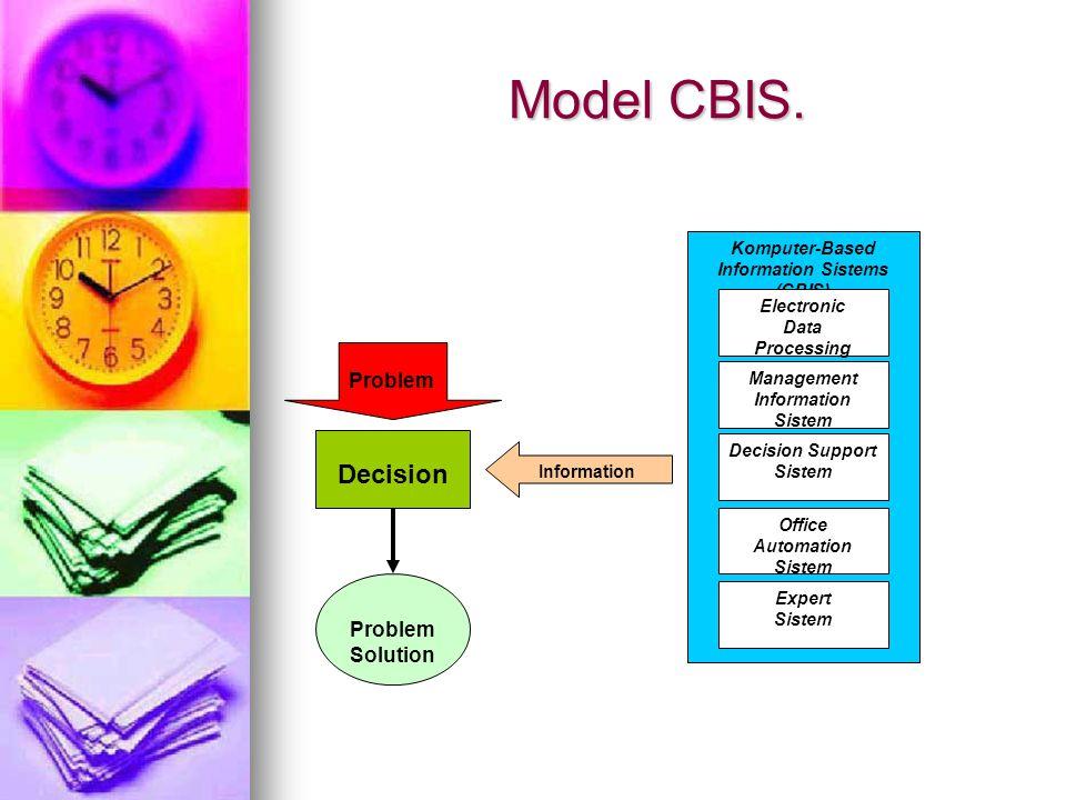 Model CBIS. Decision Problem Solution